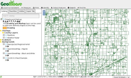 GeoMoose 3 Screenshot